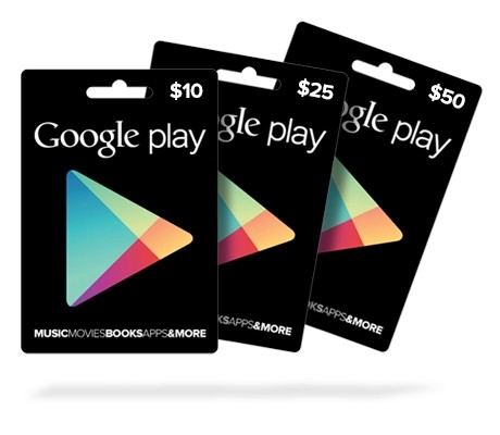 Google PlayBuy Now. Redeem Instantly.$10, $25 and $50 cards are available.